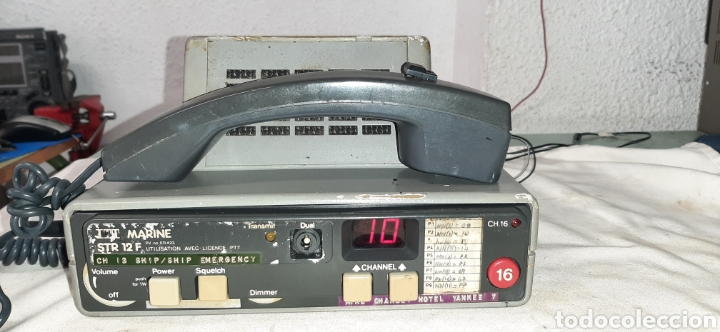 EMISORA ITT MARINE STR 12F (Radios, Gramófonos, Grabadoras y Otros - Radioaficionados)