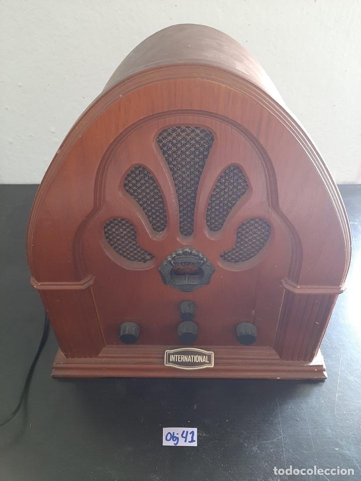 Radios antiguas: RADIO INTERNATIONAL - Foto 2 - 283867188