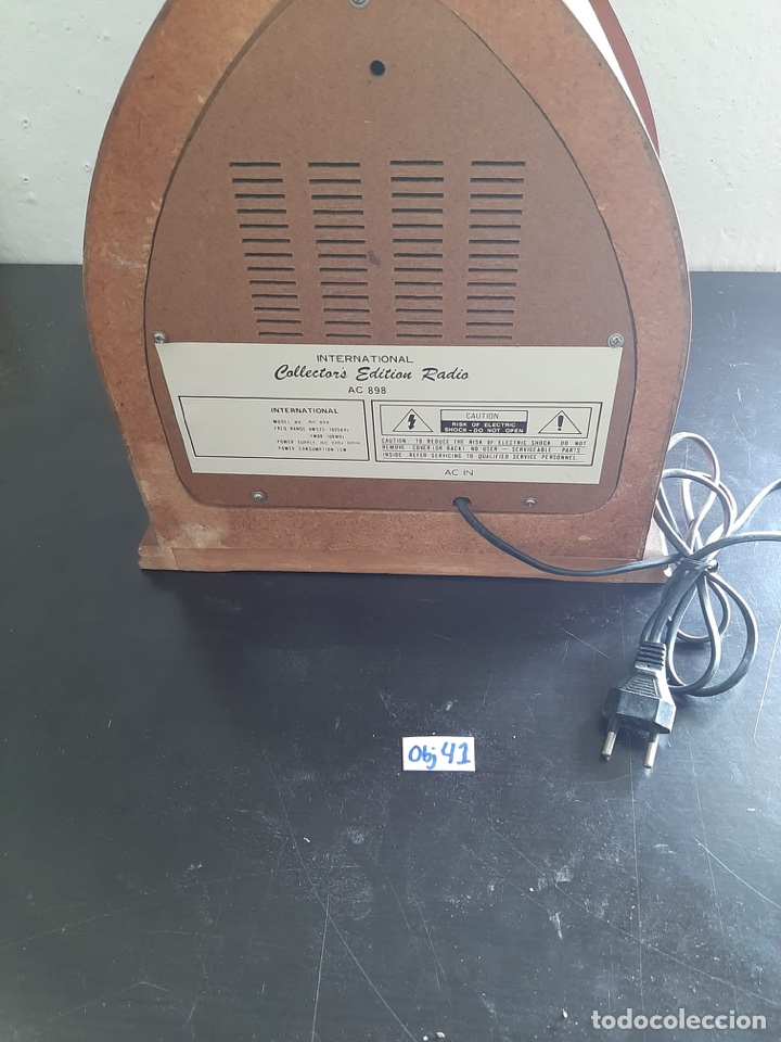 Radios antiguas: RADIO INTERNATIONAL - Foto 4 - 283867188