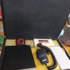 Radios antiguas: EQUIPO COMPLETO DE EMISORA HY-GAIN II EN MALETA. Lote 285065238