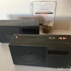 Radios antiguas: RADIO DESPERTADOR NAKAMICHI JAPON-CONJUNTO DE 2 APARATOS-ALTA FIDELIDAD STEREO-VINTAGE. Lote 285300178