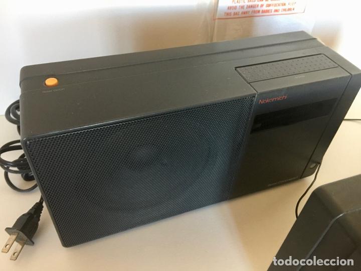 Radios antiguas: RADIO DESPERTADOR NAKAMICHI JAPON-CONJUNTO DE 2 APARATOS-ALTA FIDELIDAD STEREO-VINTAGE - Foto 4 - 285300178