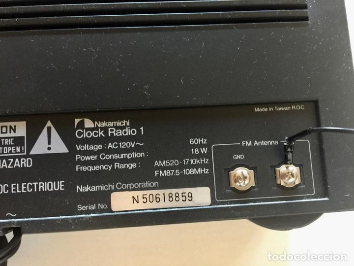 Radios antiguas: RADIO DESPERTADOR NAKAMICHI JAPON-CONJUNTO DE 2 APARATOS-ALTA FIDELIDAD STEREO-VINTAGE - Foto 12 - 285300178