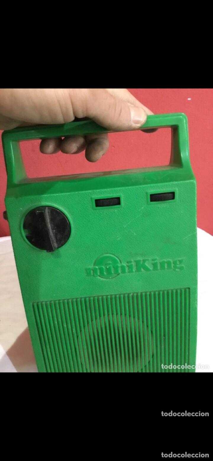 Radios antiguas: Radio cassette antigua MINIKING RARO . Italy antigua - Foto 3 - 286314763