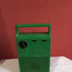 Radios antiguas: RADIO CASSETTE ANTIGUA MINIKING RARO . ITALY ANTIGUA. Lote 286314763
