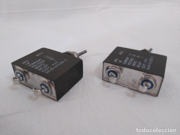 Radios antiguas: 2 INTERRUPTORES DE PALANCA DE CARGA Y CORTE - AIRPAX AP2 - Foto 4 - 286359048