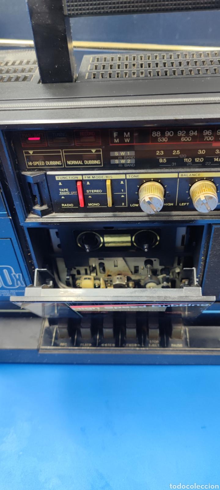 Radios antiguas: RADIO CASSETTE SILVER SR 50 X VINTAGE - Foto 5 - 286408988