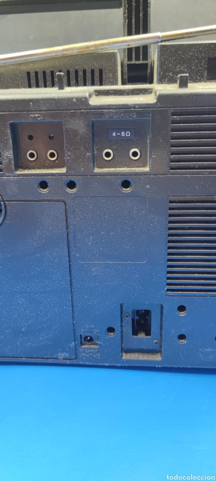 Radios antiguas: RADIO CASSETTE SILVER SR 50 X VINTAGE - Foto 9 - 286408988