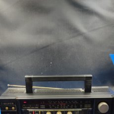 Radios antiguas: RADIO CASSETTE SILVER SR 50 X VINTAGE. Lote 286408988