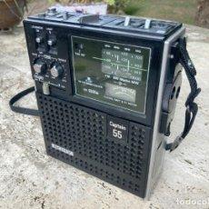 Radio antiche: RARO RECEPTOR MARINO SONY ICF-5500M CAPTAIN 55 FM/AM 4 BAND A RESTAURAR. Lote 287940883