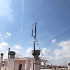 Radios antiguas: MATERIAL ANTENA RADIO AFICIONADO, PERFECTO ESTADO. Lote 290130408