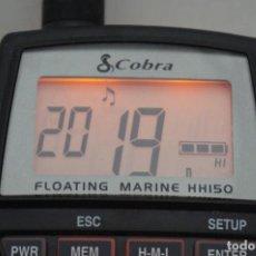 Radios antiguas: COBRA MARINE VHF RADIO FLOAT HH150FLT - ESTA NUEVA SIN USO - NO TIENE CAJA COMO SE VE EN LAS FOTOS.. Lote 294027003