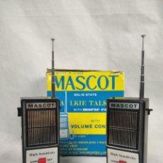 Radios antiguas: VINTAGE WALKIE TALKIE MASCOT MORSE. Lote 294964113