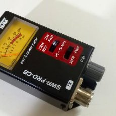 Radios antiguas: MEDIDOR DE ESTACIONARIAS TEAM SWR PRO. Lote 295432078