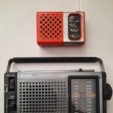 Radios antiguas: 2 RADIOS SANYO. Lote 295436083