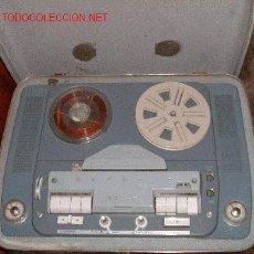 Fonógrafos y grabadoras de válvulas: MAGNETOFON MARCA GRUNDIG.. Lote 386816