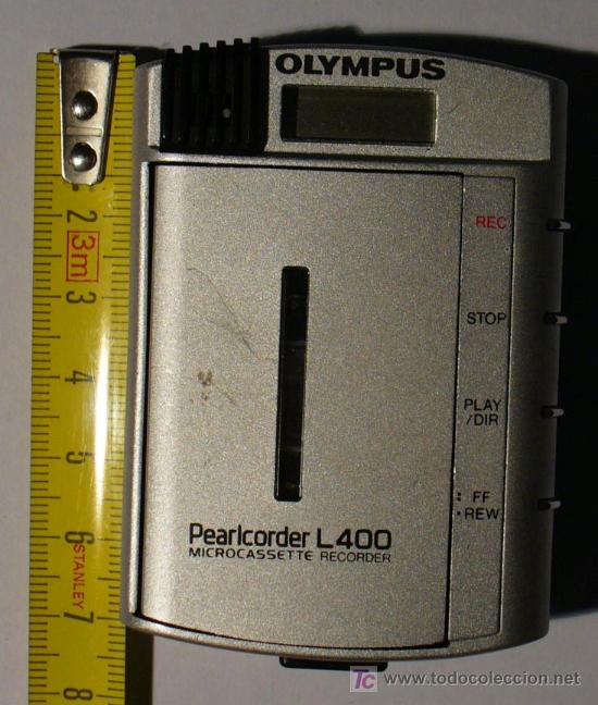 MINI GRABADORA PEARCORDERL 400 DE OLYMPUS (Radios, Gramófonos, Grabadoras y Otros - Fonógrafos y Grabadoras de Válvulas)