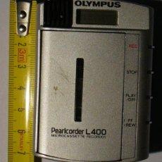 Fonógrafos y grabadoras de válvulas: MINI GRABADORA PEARCORDERL 400 DE OLYMPUS. Lote 141228945