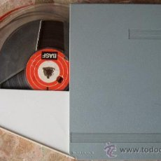 Fonógrafos y grabadoras de válvulas: CINTA DE GRABACIÓN BASF 18-120 PARA APARATOS DE BOBINAS. Lote 26149861