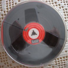 Fonógrafos y grabadoras de válvulas: CINTA DE GRABACIÓN BASF 18-180 PARA APARATOS DE BOBINAS. Lote 41215721