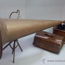 Fonógrafos y grabadoras de válvulas: FONOGRAFO EDISON 1905. Lote 26614485