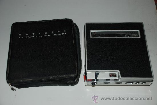 Fonógrafos y grabadoras de válvulas: Magnetofon de sobremesa NATIONAL. RQ 115. - Foto 2 - 20533325