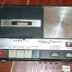 Fonógrafos y grabadoras de válvulas: GRABADORA MAGNETOFONO A CASSETTE AIWA TP 707P. Lote 25193883