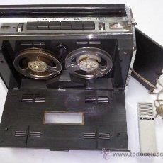 Fonógrafos y grabadoras de válvulas: APARATO MUSICAL DE CINTA GRUNDIG 2 PISTAS 2 VELOCIDADES. Lote 27085818