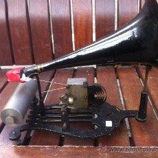 Fonógrafos y grabadoras de válvulas: FONOGRAFO ANTIGUO. Lote 29955005