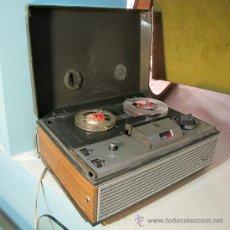 Fonógrafos y grabadoras de válvulas: MAGNETOFONO GRUNDIG TK 120. Lote 32488244