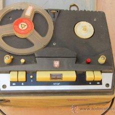 Fonógrafos y grabadoras de válvulas: MAGNETOFONO PHILIPS. Lote 33553542
