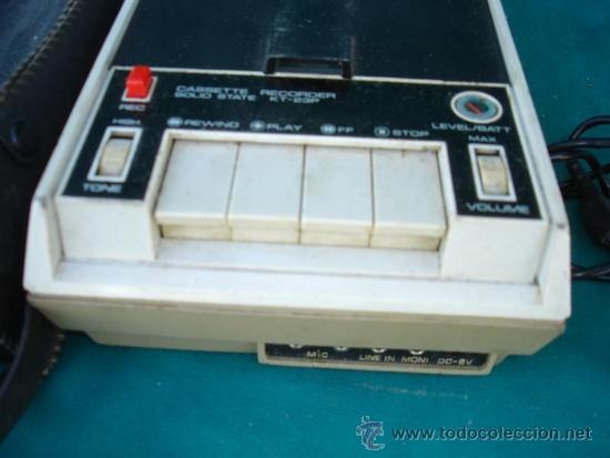 Fonógrafos y grabadoras de válvulas: casset grabador - Foto 2 - 33746569