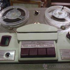Fonógrafos y grabadoras de válvulas: MAGNETOFON DE VALVULAS MARCA INGRA IMPECABLE FUNCIONANDO. Lote 36712158