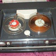 Fonógrafos y grabadoras de válvulas: GRABADORA GRUNDIG TK 6 DE 1962- 1965 ESTROPEADA NO ENCIENDE. Lote 38085292