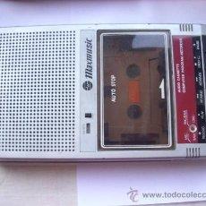 Fonógrafos e gravadores de válvulas: ANTIGUO CASSETTE MAXMUSIC. Lote 39034148