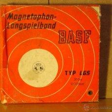Fonógrafos y grabadoras de válvulas: CAJA VACIA DE CINTA MAGNETOFONICA BASF TYP LGS 350 M. Lote 39552075