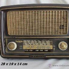 Fonógrafos y grabadoras de válvulas: RADIO VALVULAS INVICTA BAQUELITA ANTIGUA ESTORIL FUNCIONANDO. Lote 39806008