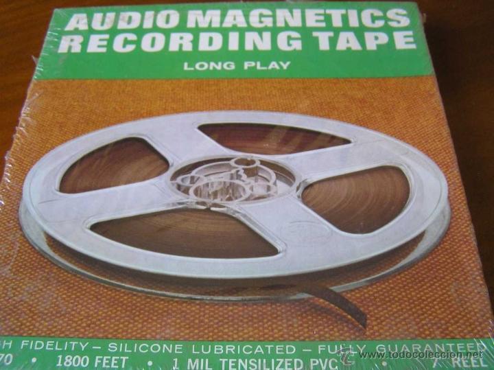 Fonógrafos y grabadoras de válvulas: CINTA MAGNETICA MAGNETOFON MAGNETOFONO 21870 AUDIO MAGNETICS 1800 FEET 7 PULGADAS EN CAJA SIN ABRIR - Foto 15 - 40177382