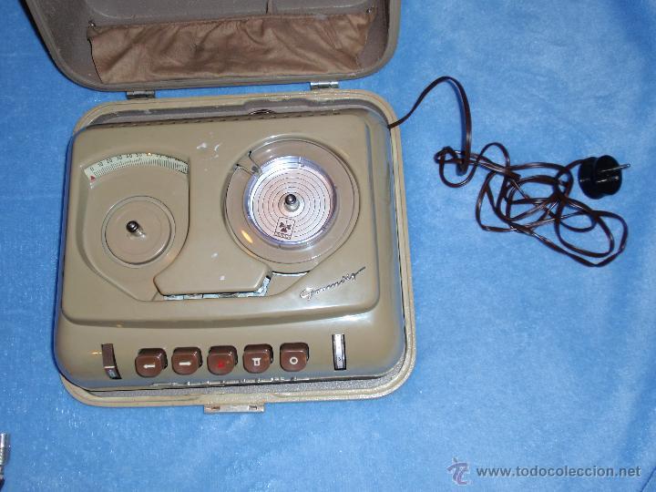 Fonógrafos y grabadoras de válvulas: Muy antigua grabadora - Dictáfono Grundig Año 1954 - Stenorette - Muy raro y dificil de encontar - - Foto 6 - 42347920