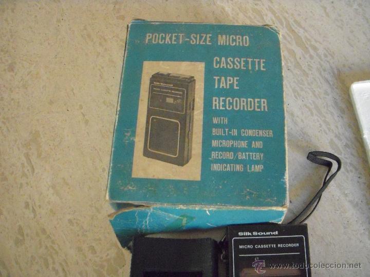 Fonógrafos y grabadoras de válvulas: pocket size micro - Foto 2 - 45438990