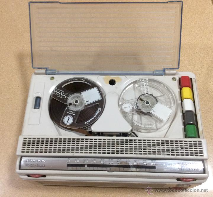 MAGNETÓFONO GRABADOR GELOSO G - 257 (Radios, Gramófonos, Grabadoras y Otros - Fonógrafos y Grabadoras de Válvulas)
