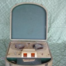 Fonógrafos y grabadoras de válvulas: ANTIGUO MAGNETOFÓN TIPO MALETA MARCA TELECTRONIC A RESTAURAR . Lote 50307241
