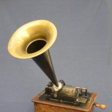 Fonógrafos y grabadoras de válvulas: ANTIGUO FONÓGRAFO THOMAS EDISON, AÑO 1905.. Lote 50467098