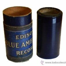 Fonógrafos y grabadoras de válvulas: CILINDRO GRABADO FONÓGRAFO EDISON BLUE AMBEROL RECORD APROX. 1912 -Nº3326 -LADDIE BOY—L. GILBERT- . Lote 52637989