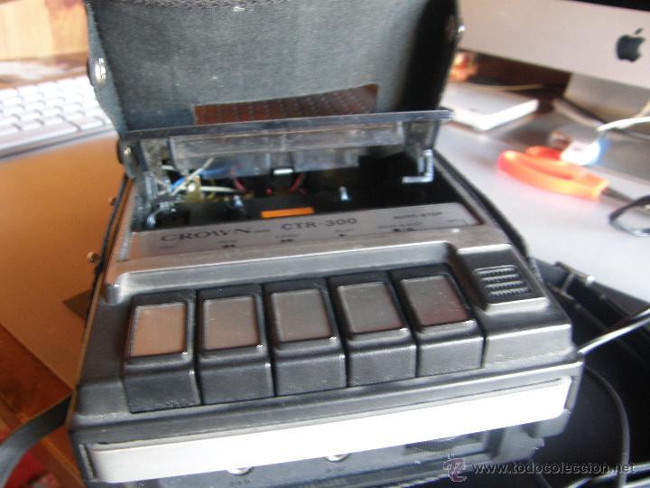 Fonógrafos y grabadoras de válvulas: Grabadora reproductora de la marca CROWN. - Foto 2 - 53039928