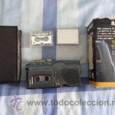 Fonógrafos y grabadoras de válvulas: GRABADORA MICROCASSETTE SANYO TALK-BOOK MODELO TRC-610M. Lote 53132223