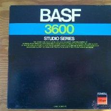 Fonógrafos y grabadoras de válvulas: BASF 3600 STUDIO SERIES - CINTA DE GRABACION / RECORDING REEL . Lote 53588154