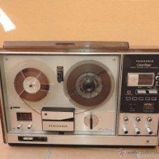 Fonógrafos y grabadoras de válvulas: ESPECTACULAR RADIO AM / FM Y MANGNETOFON MAGNETOFONO REPRODUCTOR PANASONIC, COLECCION. Lote 54597119