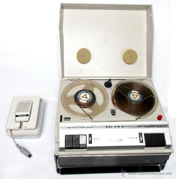 ANTIGUO MAGNETOFON O GRABADORA ANTIGUA MARCA GRUNDIG TK 17L DELUXE. (Radios, Gramófonos, Grabadoras y Otros - Fonógrafos y Grabadoras de Válvulas)