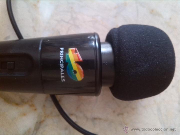 MICROFONO COLACAO 40 PRINCIPALES (Radios, Gramófonos, Grabadoras y Otros - Fonógrafos y Grabadoras de Válvulas)